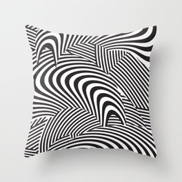 opt/out Throw Pillow