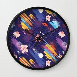 Abstract Free Art Expression Wall Clock