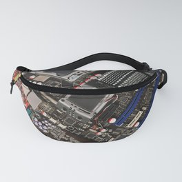Computer motherboard Fanny Pack