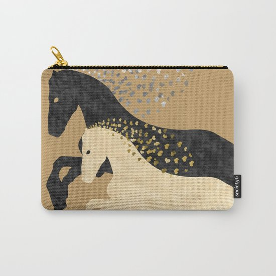 Free Horses Carry-All Pouch