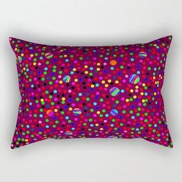 Colorful Rain 03 Rectangular Pillow