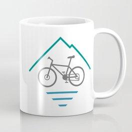 Trail Bike Cycling Logo Coffee Mug