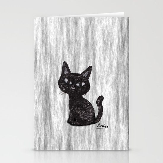 BLACK CAT 2 Stationery Cards