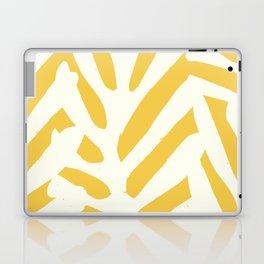Coral in yellow Laptop & iPad Skin