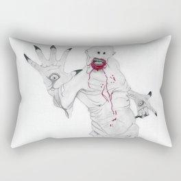 Pale Man Rectangular Pillow