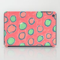 polka dot iPad Cases featuring polka dot by Jenni Freidman