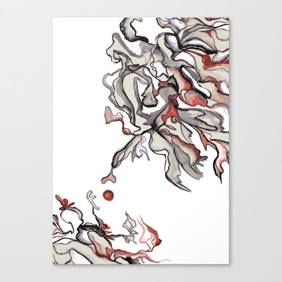 Apple of Discord Canvas Print