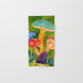 Toadstools Hand & Bath Towel