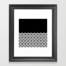 raspust (black/white) Framed Art Print