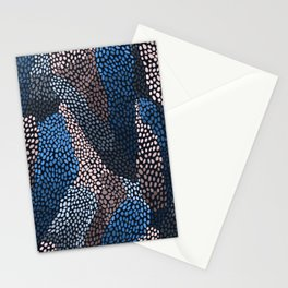 Deep ocean pattern Stationery Cards