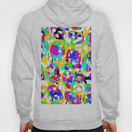 Colorful ovals Hoody