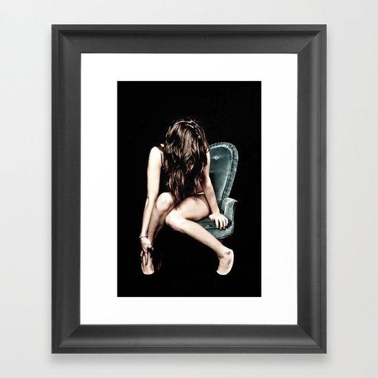 """The Chair"" Framed Art Print"
