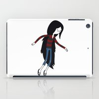 marceline iPad Cases featuring Marceline fly by OverClocked