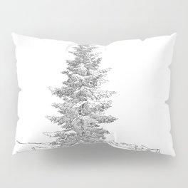 North American fir tree  Pillow Sham