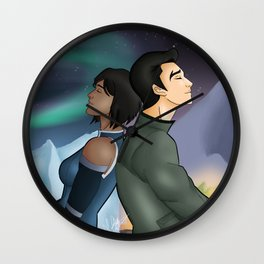 Makorra - After All These Years Wall Clock