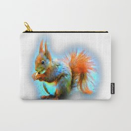 Squirrel in modern style Carry-All Pouch