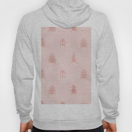 Beetles en rose gold Hoody