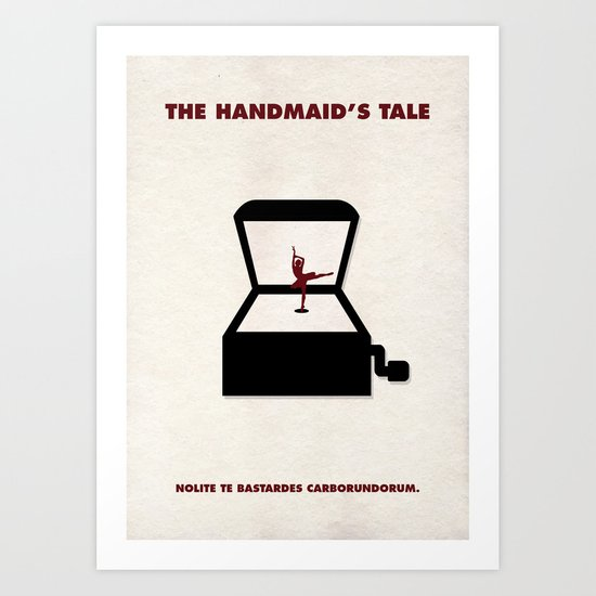 The Handmaid's Tale - The Girl In The Box Art Print