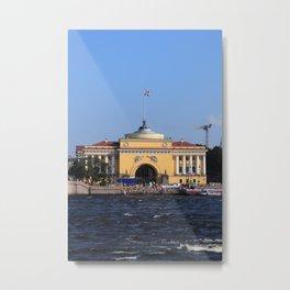 Facade Admiralty building Metal Print