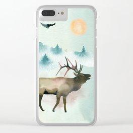 Winter Wonderland 9 Clear iPhone Case