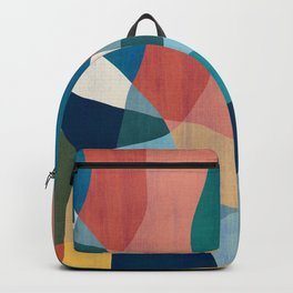 Waterfall and forest Backpack