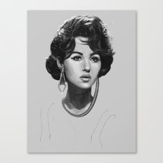Monica Bellucci Canvas Print