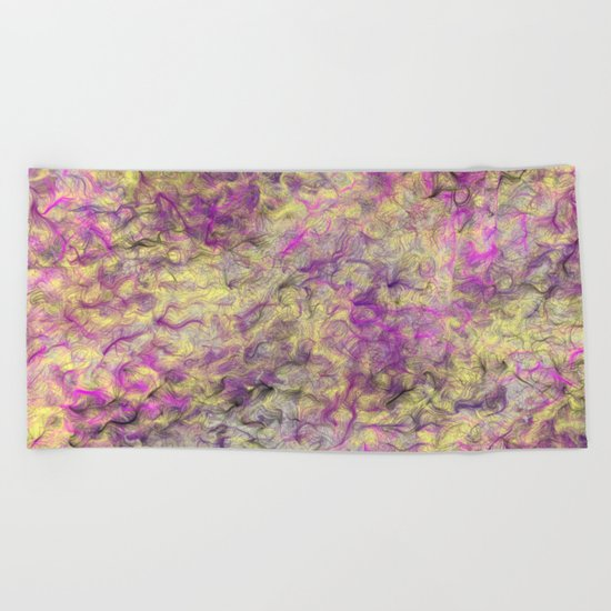 Field of Wild Beach Towel
