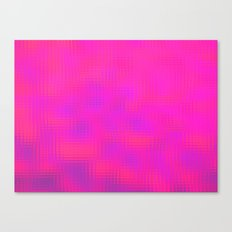 Blurry pink glass Canvas Print