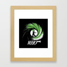 The Name's Who Framed Art Print