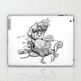 Grindin' Marijuana Weed art illustration Laptop & iPad Skin