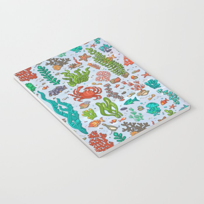 Under the Sea Life Notebook
