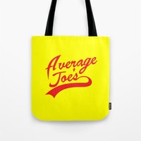 font Tote Bags featuring Gym font by Buby87