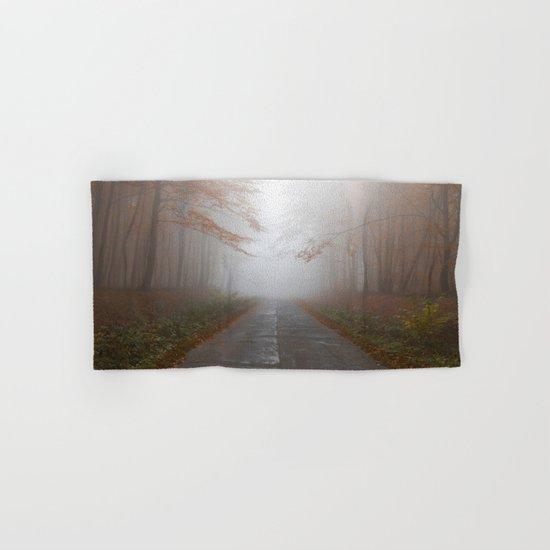 Forest Walk #fog Hand & Bath Towel