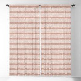 ZHI STRIPE PINK Blackout Curtain