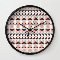 southwest Wall Clocks featuring southwest by kociara