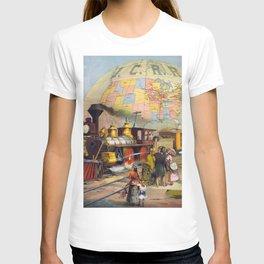 Vintage poster - Intercontinental Railroad T-shirt