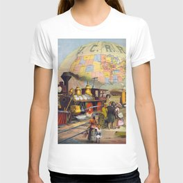 Vintage poster - Intercontinental Railroad T-shirt