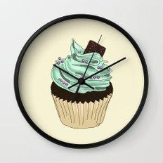 Spongy Cupcake Wall Clock