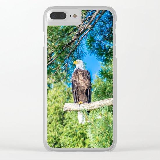 Bird of Prey Clear iPhone Case