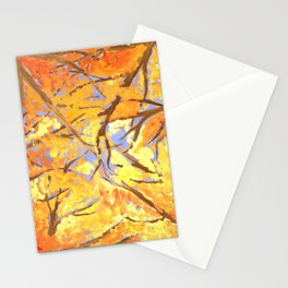 A Fire in the Trees Stationery Cards