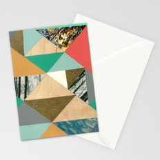 Glimpses of snow Stationery Cards