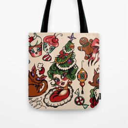 Holidaze Tote Bag