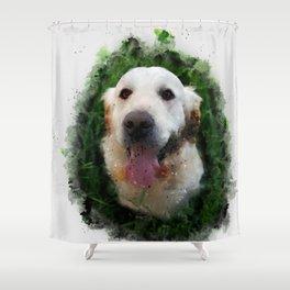 Good Boy Shower Curtain