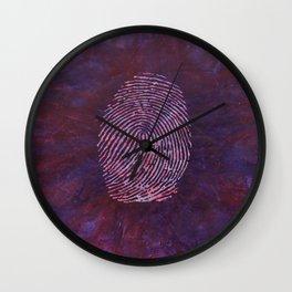 Identification Wall Clock