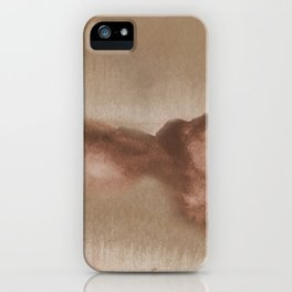 Watercolor Clouds iPhone Case