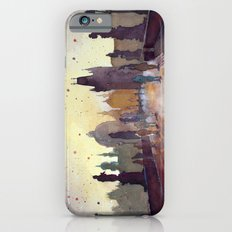 Prague, watercolor explorations in violet  Slim Case iPhone 6s
