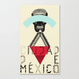 Locals Only - Ciudad de México Canvas Print