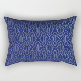 Hexagold Rectangular Pillow
