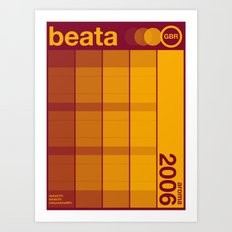 beata single hop Art Print