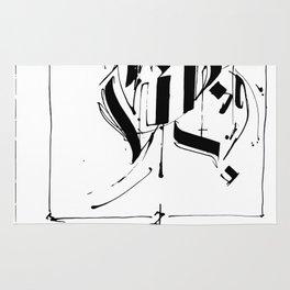 CALLIGRAPHY N°5 ZV Rug